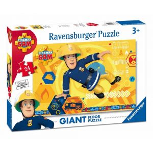 Ravensburger Puzzle géant de sol Sam Le Pompier