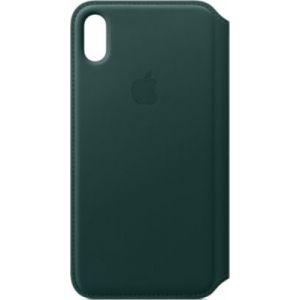 Apple Etui iPhone XS Max cuir Vert foret