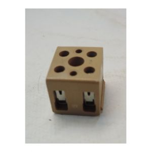 Weidmuller Barrette de raccordement carré mono- et multipolaire pour fil 4mm² max raccordement vissé BK2/E 7906040000