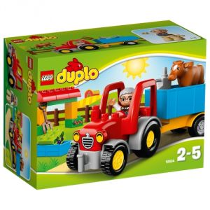Duplo 10524 - Ville : Le tracteur de la ferme