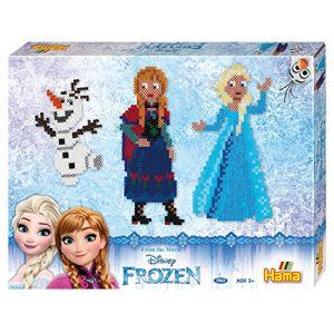 """Hama Boîte cadeau de perles moyennes """"Frozen"""""""
