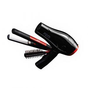 PEM Set de voyage : sèche cheveux, lisseur et brosse à cheveux