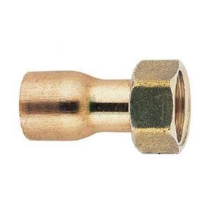 Riquier adrien Raccord 2 pièces douille cuivre 50X60/52 - RIQUIER
