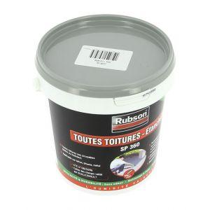 Rubson Résine silicone gris étanchéité toiture plate 1kg