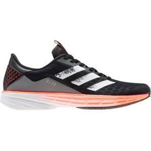 Adidas Sl20 W, Chaussures de Running Compétition Femme, Noir Noir/Blanc FTWR/Corail Signal, 36 EU