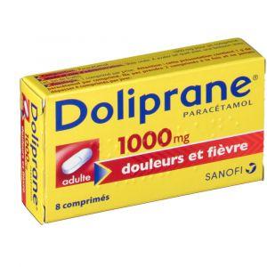 Sanofi Doliprane 1000 mg - 8 comprimés