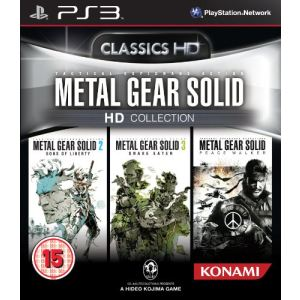 Metal Gear Solid HD Collection [PS3]