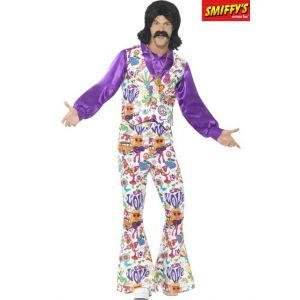Smiffy's Déguisement hippie cool années 60 homme M
