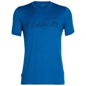 Icebreaker T-shirts Tech Lite Crewe Coronet Peak - Isle - Taille XXL