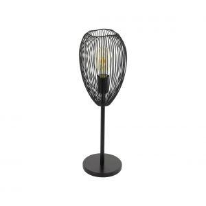 Eglo Lampe à poser CLEVEDON Noir, 1 lumière - Vintage - Intérieur - CLEVEDON - Délai de livraison moyen: 10 à 14 jours ouvrés. Port gratuit France métropolitaine et Belgique dès 100 €.