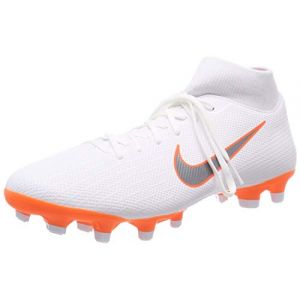 Nike Mercurial Superfly 6 GS MG Junior, Chaussures de Football Mixte Enfant, Blanc