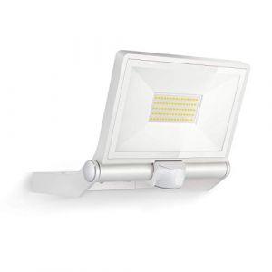Steinel XLED ONE XL à détection Blanc, Projecteur LED extérieur, détecteur de mouvement 180°, 43,5 W, 4400 lm à 3000K