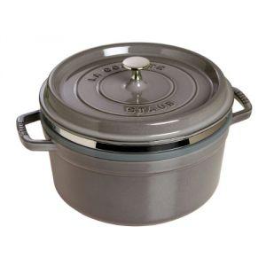 Staub 1133818 - Cocotte ronde avec panier 26 cm