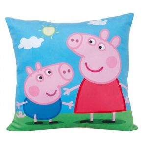Fun House Coussin carré Peppa Pig