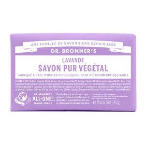 Dr bronner's Savon pur végétal lavande