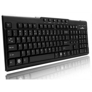 Bluestork Multimédia Ultra Compact (BS-KB-MEDIAFIRST2) - Clavier filaire USB