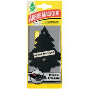 Arbre Magique Désodorisant voiture Black Classic