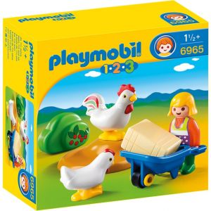 Playmobil 6965 - Agriculteur avec poulets 1.2.3.