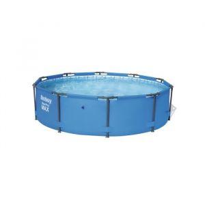 Bestway Piscine tubulaire ronde Steel Pro Max