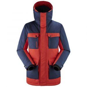 Lafuma Lapland Warm Parka M Veste Homme, Vibrant Red/Eclipse Blue, FR : S (Taille Fabricant : S)
