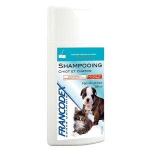 Francodex Shampooing chiot et chaton hypoallergénique
