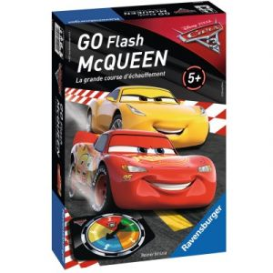 Ravensburger Jeu Cars 3 Go Flash McQueen La grande course d'échauffement