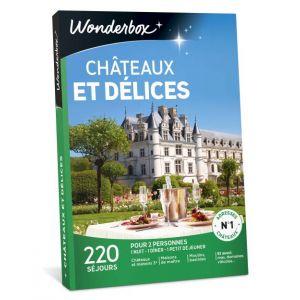 Wonderbox Châteaux et délices - Coffret cadeau 220 séjours