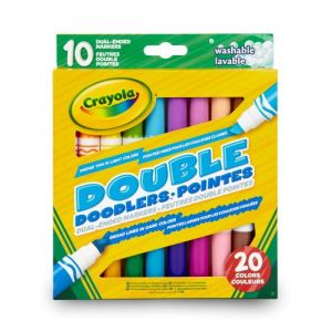 Crayola 10 feutres double pointes