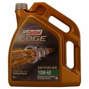 Castrol EDGE Supercar 10W-60 5 Litres Jerrycans