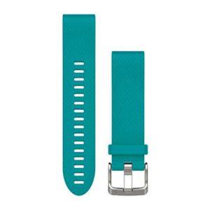 Garmin Fenix 5S - QuickFit 20mm turquoise Accessoires montres