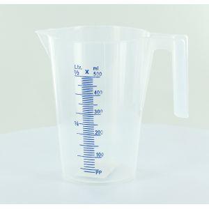 Pressol Broc verseur gradué polypropylène translucide 0,5 l 145 x 100 x 135 - ARTUB