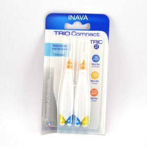 Inava Trio Compact - 2 brossettes interdentaires Trio 2