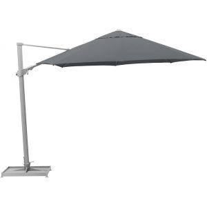 Kettler Parasol déporté Easy swing 350 cm - Argent, Taupe