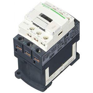 Schneider Electric LC1D12BD contacteur TeSys LC1-D, 3P, 12 A, 440 VAC-3, bobine 24 VCC, Standard