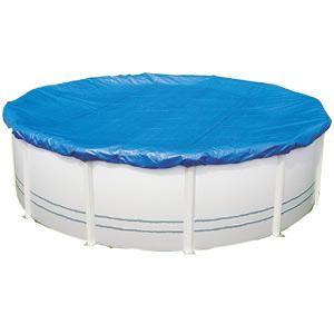 Aqualux 100715 - Couverture d'hivernage 200g/m2 pour piscine ovale hors sol 7,30 x 3,70 m