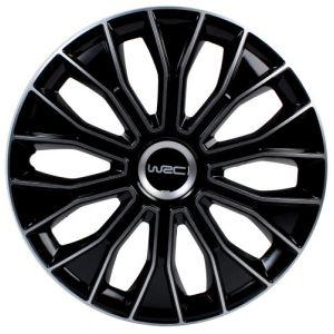 Boss Effect 4 enjoliveurs noir/gris WRC Bicolor 13 pouces