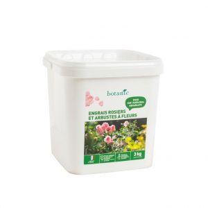 Engrais rosiers et arbustes à fleurs 3 kg botanic®