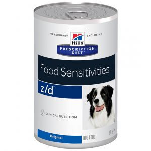 Hill's Prescription Diet z/d Canine Ultra Allergen - 12 boîtes de 370 g