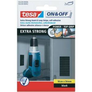 Tesa Velcro - Bandelettes extra dures 50 x 100 mm