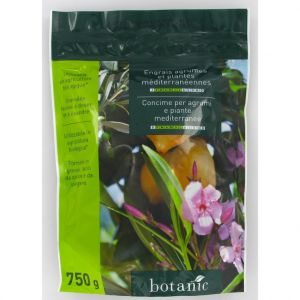 Botanic Engrais 750g agrumes et plantes mediterranéennes