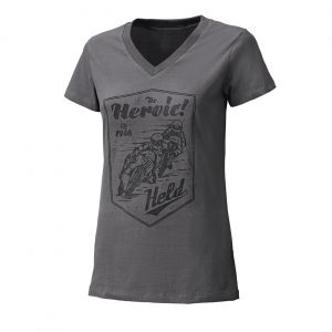 Held T-Shirt Be Heroic Ldy Gris M
