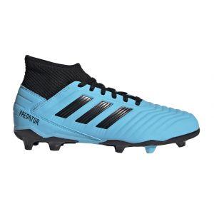 Adidas Predator 19.3 Fg - Bright Cyan / Core Black / Solar Yellow - Taille EU 37 1/3