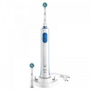 Oral-B Pro 670 CrossAtion - Brosse à dents électrique avec 2 brossettes