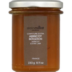 Alain Milliat Confiture extra abricot bergeron - Le bocal de 230g