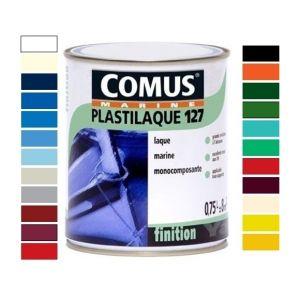 Comus PLASTILAQUE 127 - Tous supports / Monocomposant Bleu Piscine 110 0.75 Litre(s) MARINE