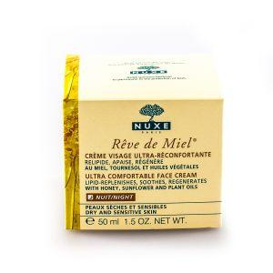 Nuxe Rêve de Miel - Crème visage ultra-réconfortante nuit