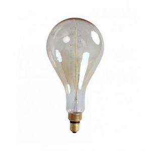 Ampoule décorative rétro Edison Géante Eve (D.16cm) filament Zigzag incandescent 40W (E27)
