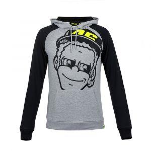 VR46 Sweat zip capuche Valentino Rossi Dottorino gris 2018 - M
