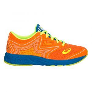 Asics Chaussures running Noosa Grade School - Shocking Orange / Flash Yellow - Taille EU 38