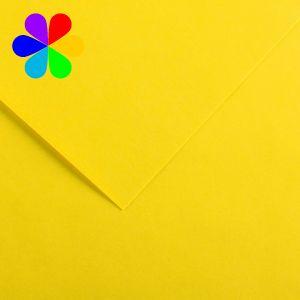 Canson 200040781 - Feuille Iris Vivaldi A4 240g/m², coloris jaune canari 4